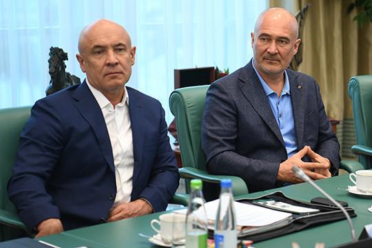 В октябре этого года вместо Алины Ковалевой бенефициаром компании «Гранат-Стан Трейд» стало ООО «МНКТ», где владельцами выступают Радик и Айрат Шаймиевы вместе с сыном последнего Тимуром Шаймиевым