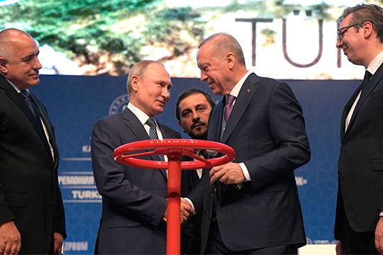 Путин приезжал открывать «Турецкий поток» и, видимо, на фоне этого надо было продемонстрировать, с одной стороны, некие миротворческие усилия челночной дипломатии между Асадом и Эрдоганом, а с другой, свою военную мощь
