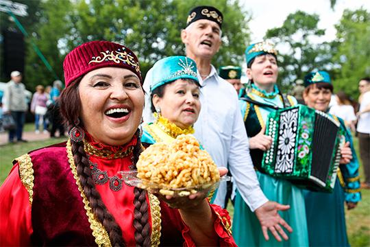 «Этоже несамоцель— быть вторым, третьим или четвертым. Влюбом случае татары останутся вторыми. Татар много»