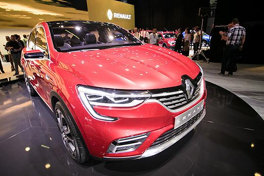 Новый купейный кроссовер Arkana на гора выдал 807 единиц, перекрыв весь сальдированный рост продаж Renault, значит, именно эта модель локомотивом вытащила всю статистику