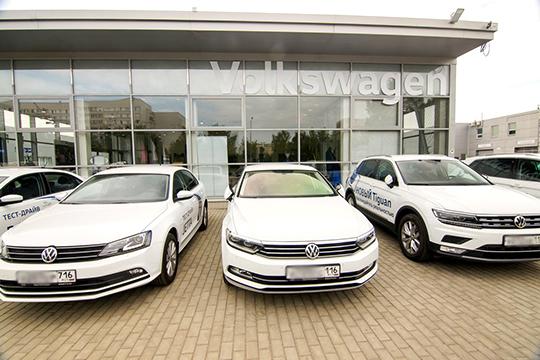 Немецкий Volkswagen потерял в РТ 7,2% спроса. И виновником, в отличие от предыдущих марок, стала Казань