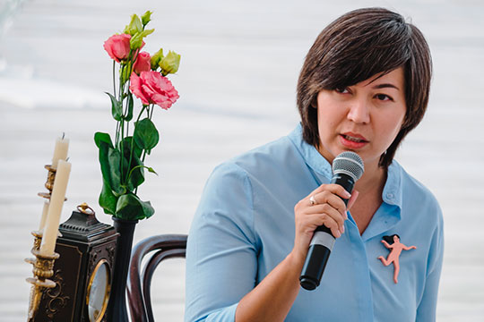 В начале февраля в Татарстане был запущен проект «Кайтам» «о возможностях для самореализации в Татарстане». Идеолог проекта и редактор — Радмила Хакова