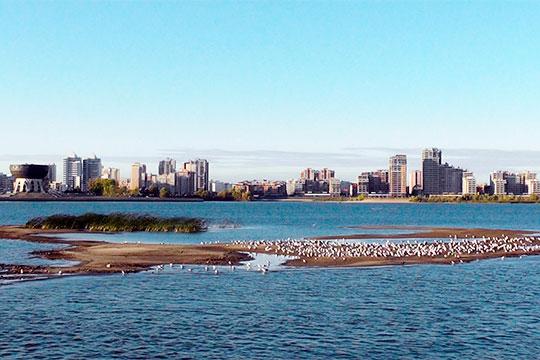 «Это уже не Казанка, а Казанский залив Куйбышевского водохранилища»