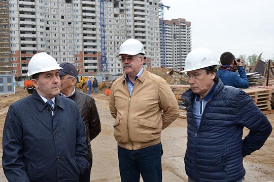 Статья о мошенничестве грозит владельцу ООО «Барсэлитстрой+»Завдяту Камалову (справа)