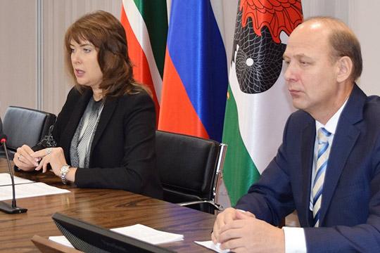 Сегодня на утреннем совещании под руководством вице-мэраЕвгении Лодвиговойподвели промежуточные итоги дорожно-строительного сезона