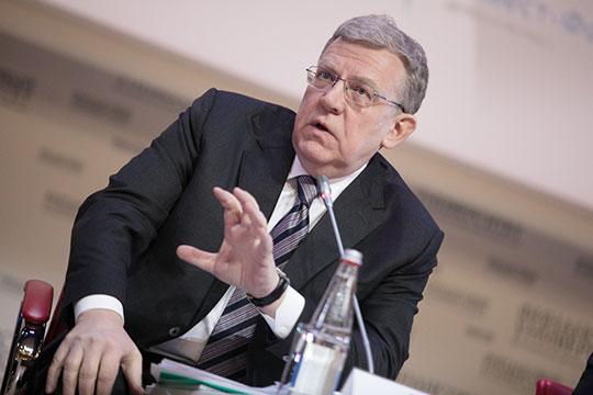 «Мыпопали всерьезную застойную яму»,— объявил вчера нафоруме Финансового университета вМоскве глава Счетной палатыАлексей Кудрин