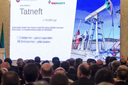 Уплаченный «Татнефтью» акциз задевять месяцев подрос на7,8% до12млрд рублей. Составители объясняют рост отчислений увеличением объема продаж подакцизных нефтепродуктов навнутреннем рынке