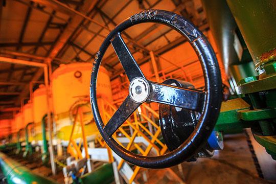 Производствонефтепродуктовувеличилось на9,5% до6,5млн тонн