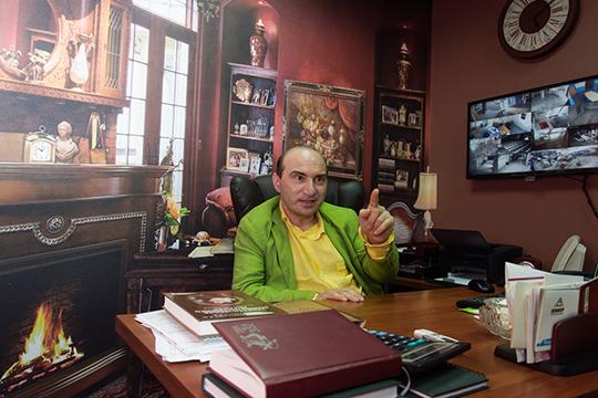 Армандо Диамантэ: «Мой кабинет полностью выстроен под мои «хотелки»