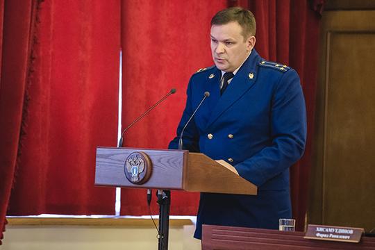 Дмитрий Ерпелеврассказал очелнинской практике прокурорского реагирования, которая, пословам Нафикова, считается чутьли необразцовой