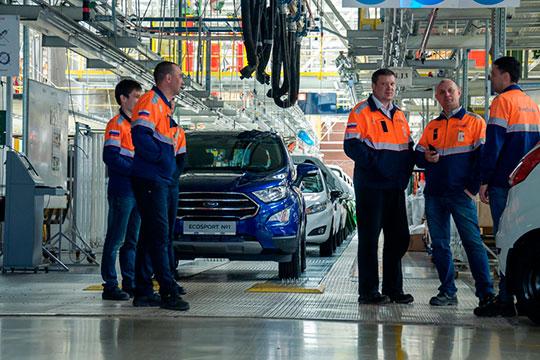 Нависшая угроза закрытия Ford-Sollers производства вЧелнах исокращений вЕлабуге (сейчас назаводах трудится 2,8тыс. человек) всерьез беспокоит правительствоРТ