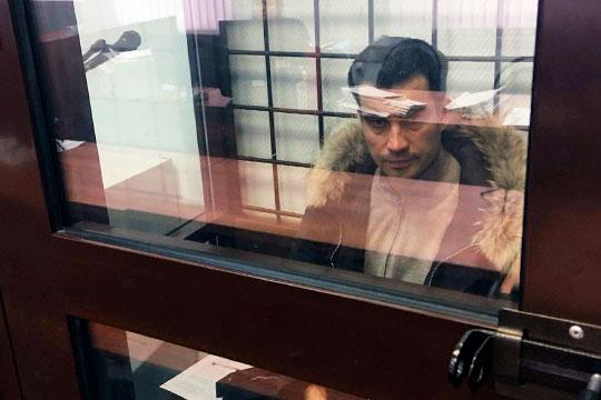 Суд отправил Мингазова вследственный изолятор на2 ближайших месяца