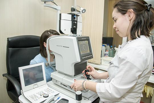 «Мыпроводим высококачественную диагностику сприменением новейшего оборудования, амбулаторную хирургию катаракты, лазерную коррекцию зрения»
