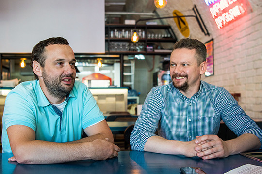 Константин Иванов (слева): «Вресторанах повысится возраст гостей, аэто значит, выручка увеличится. Для ресторанов это позитивно»Подробнее на «БИЗНЕС Online»:https://www.business-gazeta.ru/article/387144