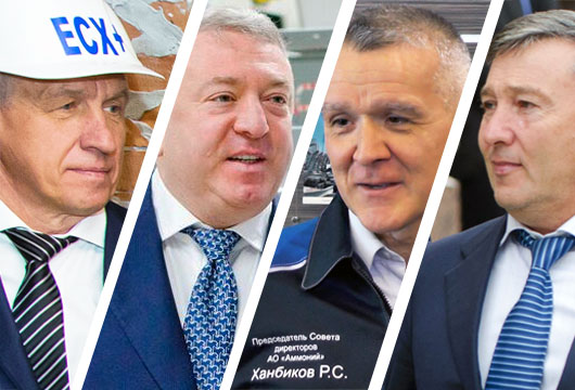 Топ-100 деловой элиты: отвага Ханбикова, падение Зиганшина ипрорыв Богуславского