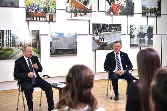 Когда в Казань приезжал Путин: именно Сергей Анатольевич [Когогин] как сопредседатель центрального штаба ОНФ вел его так называемую встречу с общественниками