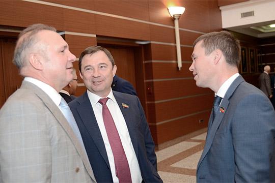 Вячеслав Зубарев,Сергей Рачков и Вадим Махеев