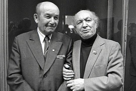 Гумер Баширов и Назиб Жиганов, декабрь 1986 г.