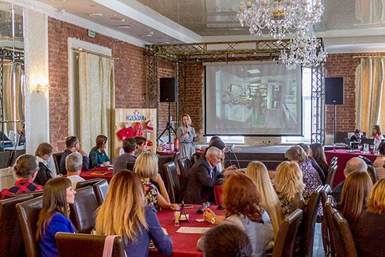 Сегодня в одном из ресторанов Казани комитет по развитию туризма провел официальную презентацию новой айдентики столицы Татарстана