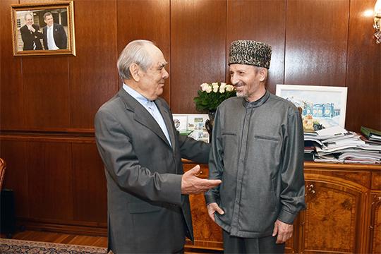 На этой неделе Татарстан с рабочим визитом посетил муфтий Дагестана Ахмад Абдулаев