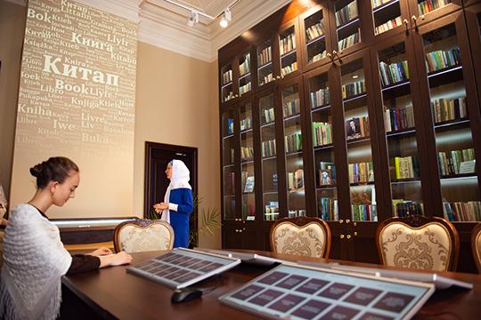 Что касается татарской книги, то в музее работает полноценный магазин