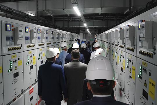 99% процентов оборудования подстанции— отечественного производства, втом числе казанского