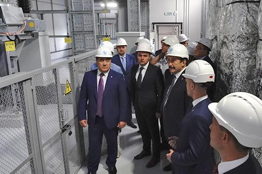 Первую вТатарстане цифровую электрическую подстанцию торжественно открыли сегодня вСтаро-Татарской слободе