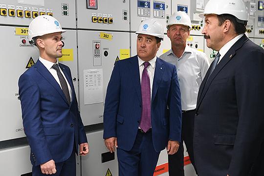 Первая цифровая: Ильшат Фардиевоткрыл вцентре Казани подстанцию за810 миллионов