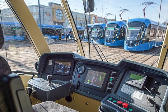 Подарок снамеком: Челны покатаются намосковских трамваях