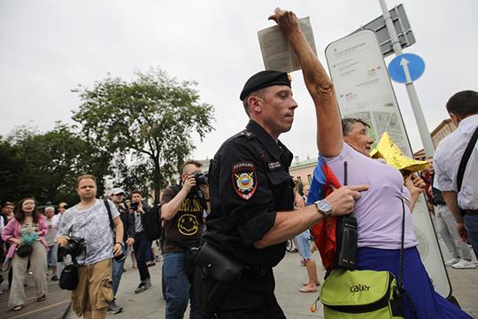 «На улицу в Москве выйдут не пять тысяч, как в поддержку Голунова, а 50 — 100 тысяч»