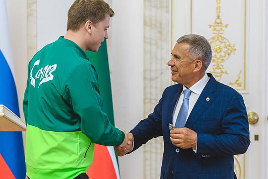 Главный медалист для вуза в 2019-м году — пловец Александр Красных