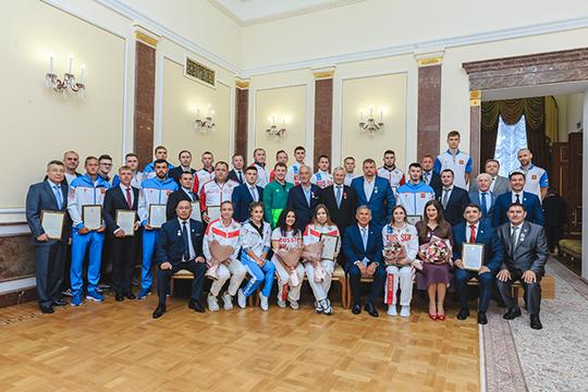 «Рустам Нургалиевич отметил, что Поволжская академия сегодня — это основа спорта в республике»