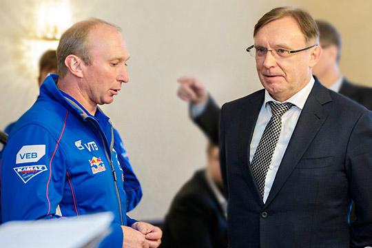 Владимир Чагин (слева)