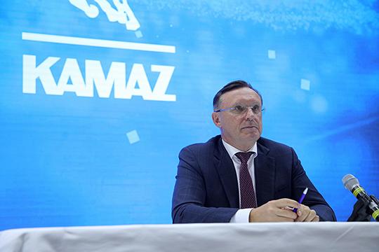 Все надежды Сергея Когогина— навторое полугодие, когда у КАМАЗа запланирован основной пул экспортных заказов
