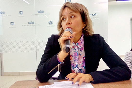Как стало известно «БИЗНЕС Online», сегодняшнюю ночь провела в изоляторе временного содержания Ада Зайдуллина, заместитель руководителя Росреестра Татарстана