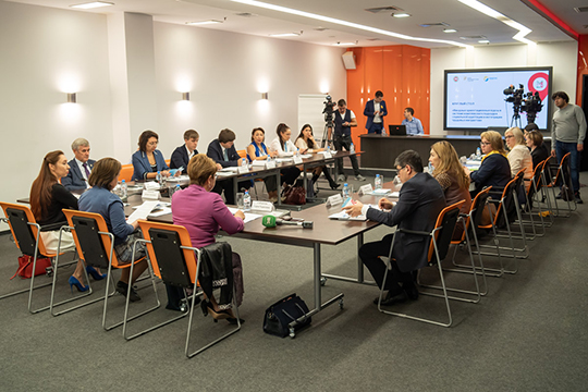 Отом, насколько эффективно работает Татарстан смигрантами, какие меры предпринимаются икакой результат они дают, обсудили врамках круглого стола, который состоялся 7октября впресс-центре ИТ-парка