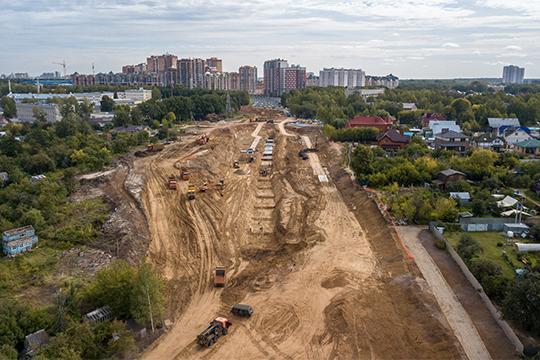 Лишь7% владельцев земельных участков взоне строительства перемычки БКК несогласились свыкупной оценкой, проведенной властями Казани
