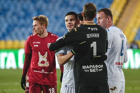 Матч завершился со счетом 0:1 в пользу «Динамо»