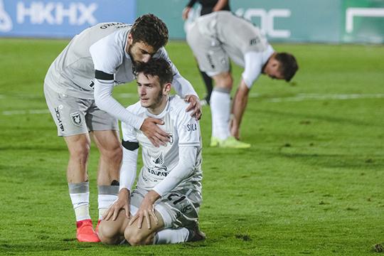 Лидеры, лучшие игроки команды —18-летние грузины Зурико Давиташвили и Хвича Кварацхелия