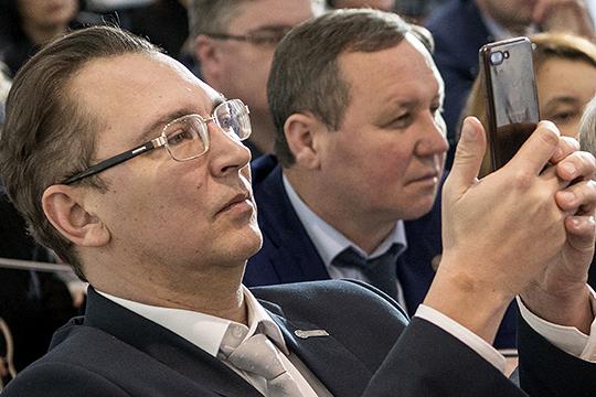 Кузьмин покидает «Татмедиа», абывший управделами Шаймиева– ТЦ«Тандем»
