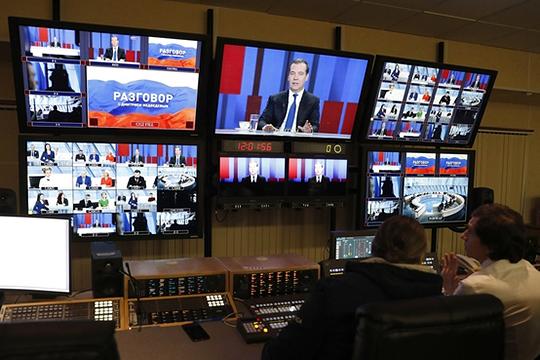 Ежегодное интервью телеканалам, которое на этой неделе дал премьер-министр Дмитрий Медведев, по формату отличалось от тех, что проходили в предыдущие годы