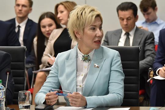 Ольга Павловаактивно выступала стрибуны (26 раз), защищая законопроекты ивыступая отимени фракции «Единой России»