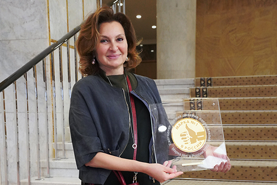 Продукция «Нэфис Косметикс» уже непервый раз становится победителем вконкурсе «Марка №1 вРоссии». Впрошлом году лауреатом былпризнанAOS вкатегории «Непродовольственные товары»
