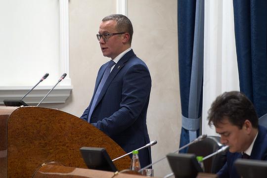 Груничев максимально лаконично упомянул недавний рост тарифов на пассажирские перевозки в Казани, огласил проштрафившиеся в прошлом году компании и возникшие проблемы в самых разных сферах