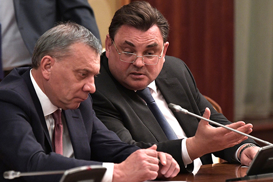 «Протеже Медведева Чуйченко (справа) стал министром юстиции. Раньше это кресло занимал тоже медведевский протеже Коновалов»