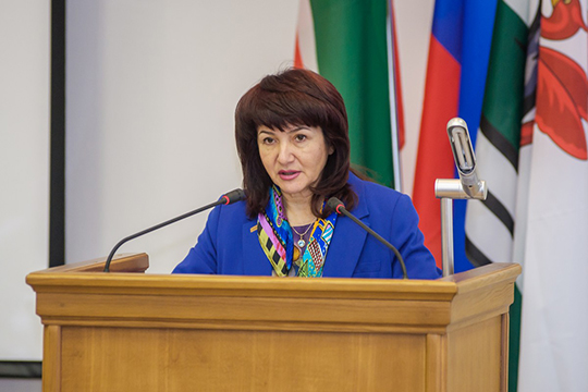Зульфия Сунгатуллина: «Поитогам голосования кандидатура Михайловой была признана соответствующей квалификационным требованиям ирекомендована для назначения надолжность руководителя исполкома»