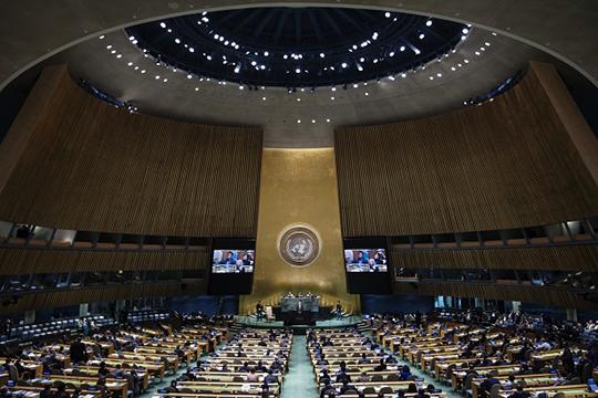 «Никакой отдельно взятый Трамп не сможет, например, поднять давным-давно необходимый назревший вопрос о реформе ООН, потому что сейчас ООН не соответствует собственным декларируемым и востребованным у мира функциям»