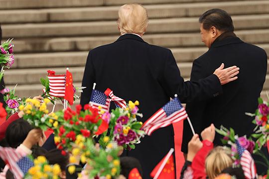 «Попытки добиться сделки с Китаем для того, чтобы поддержать американского товаропроизводителя и создать импульс для реиндустриализации Америки, были ещё в 2017 году»