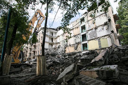 Программа реновации жилья попримеру Москвы может заработать и вдругих крупных городах страны