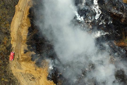 В начале мая Нижнекамск окутал смог из-за пожара на мусорном полигоне. «Ситуация локализована. Причина, по которой это произошло, — разгильдяйство», - объяснял нижнекамский глава